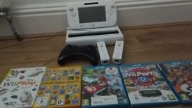 nintendo wii u used in good condition boxed + accessories
