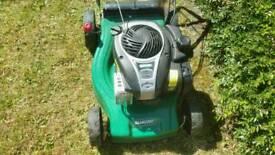petrol lawnmower like new !!!!!