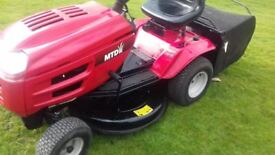 mtd lawnflite ride on mower in very good order