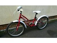Girls Apollo Ivory Bike
