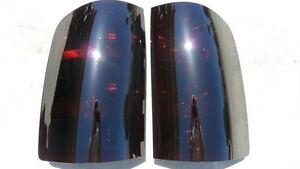 CUSTOM! 07-13 GMC Sierra Smoked Tail Lights black OEM non led Tinted Brake Lamps