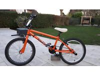 Boys BMX bike, suit boy up to 11, good condition, brake need re-adjusting. Robust bike for a lad.