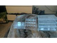 Storage solutions desk tidy make up holders drawers