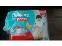 Pampers pants baby-dry size 6 15+ kg/33+lbs 23 pants
