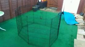Folding Dog cage