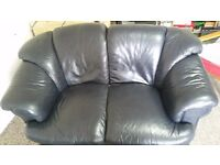 2 seater leather sofa for sale!! must go ASAP hence the low price