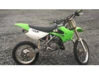 08 Kawasaki kx 85 bw