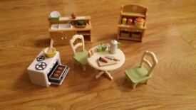 Sylvanian Families Kitchen Set
