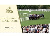 Royal Ascot Ticket - Windsor Enclosure - Fri 22nd June