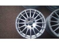 Oz Superturismo alloy wheels