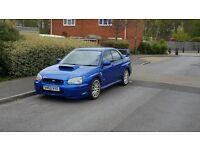 Subaru impreza wrx sti uk 339bhp swap px modified
