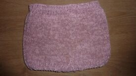 Hand knitted baby shorts