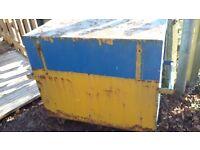 Site safe van vault tool chest