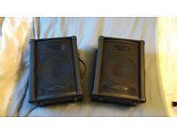 """KUSTOM 10"""" Passive PA Speakers (Pair)"""