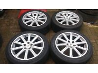 20 RANGEROVER AUTOBIOGRAPHY SPORT ALLOY WHEELS MATCHING KUMHO TYRES VW T5