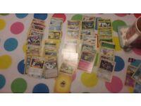 50 Pokemon cards - no doubles
