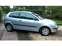 2004 VW Polo 1.2 litre 3 door Silver