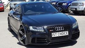 AUDI RS5 RS5 FSI QUATTRO JUST 34000 MILRES WITH A FULL HISTORY (black) 2010