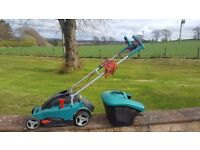 Lawnmower, hedge trimmer and loppers