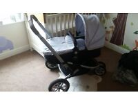 Mothercare expedior travel system in silver, great condition, £100