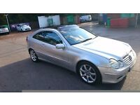 Mercedes C coupe C 220 CDI SE SPORTS lots extras heated seats panoramic roof 150k now 799