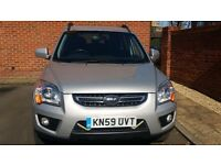 Nice Kia Sportage Titan CRDI 4WD 2009, Alloys, Air condition , Full service History.