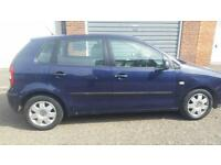 Manual 5 door for sale- VW Polo 2002 1.2
