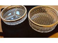 Glass Party Bowls Set