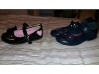 clarks blue shoes size 10 peppa pig size 11