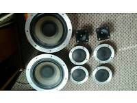 Wharfedale e 70 speakers