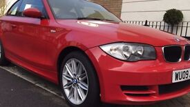 2009 BMW 120d COUPE, DIESEL, MOT - OCTOBER 2017 (NO ADVISORIES), FULL SERVICE HISTORY
