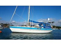 SPARKMAN & STEPHENS 38' OCEAN SAILING CRUISER NEW ENGINE 50HP BETA 2009 £59500