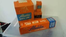 Vintage Aladdin Mantle Oil Lamp in original box