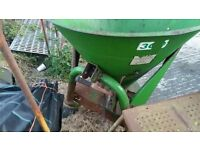 Fertiliser manure spreader for tractor in portaferry massey ford john deere