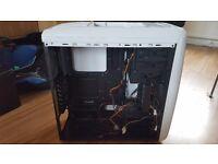 White full tower ATX PC case