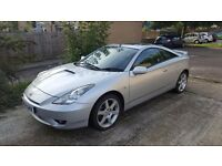 TOYOTA CELICA 1.8 vvti (PREMIUM & STYLE PACK) CRYSTAL SILVER 2004