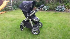 iCandy Pushchair & Pram with Car Seat Attachments
