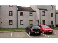 2 bedroom unfurnished flat with private parking off King Street in aberdeen