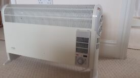 Dimplex Electric White Room Heater Adjustable with timer and thermostat