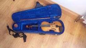 Violin/Fiddle for sale with music stand and music