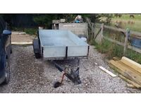 *Discounted* Galvanised Trailer 130 x 252