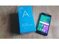 Samsung Galaxy A5 2015 (SM-A500) - 16GB - Midnight Black (Unlocked). As NEW.