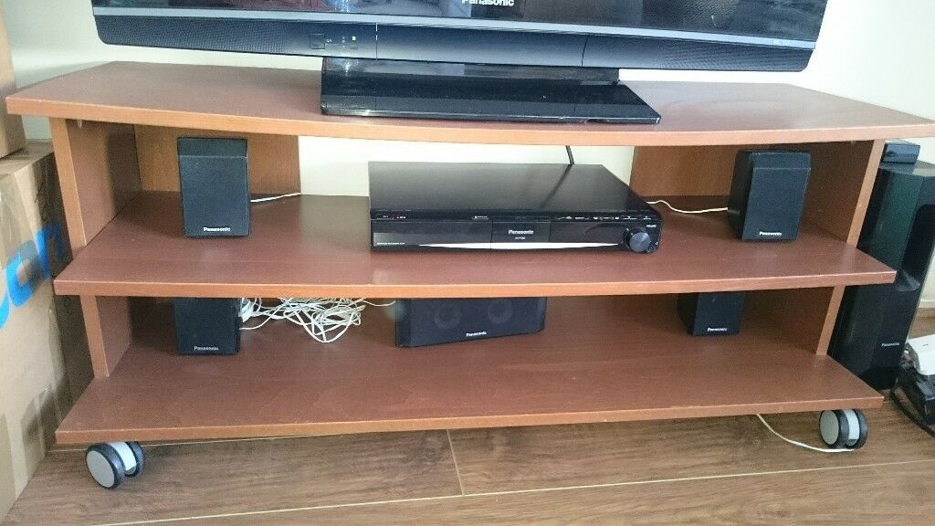 IKEA large brown TV stand