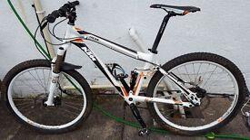 "KTM LYCAN 26"" Full Suspension Mountain Bike. Great condition. Medium frame size."