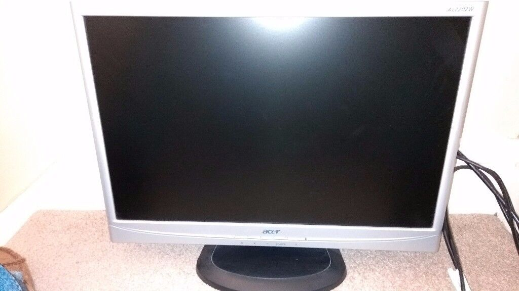 Acer 22 inch LCD computer monitor