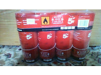 NEW AND SEALED 4 pack of 5 star compressed gas duster