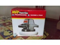 "Buffer Polisher (MVP SuperLine 10"" diameter. Nearly new - used once - still in original package"