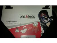 Phil and teds car seat adapter