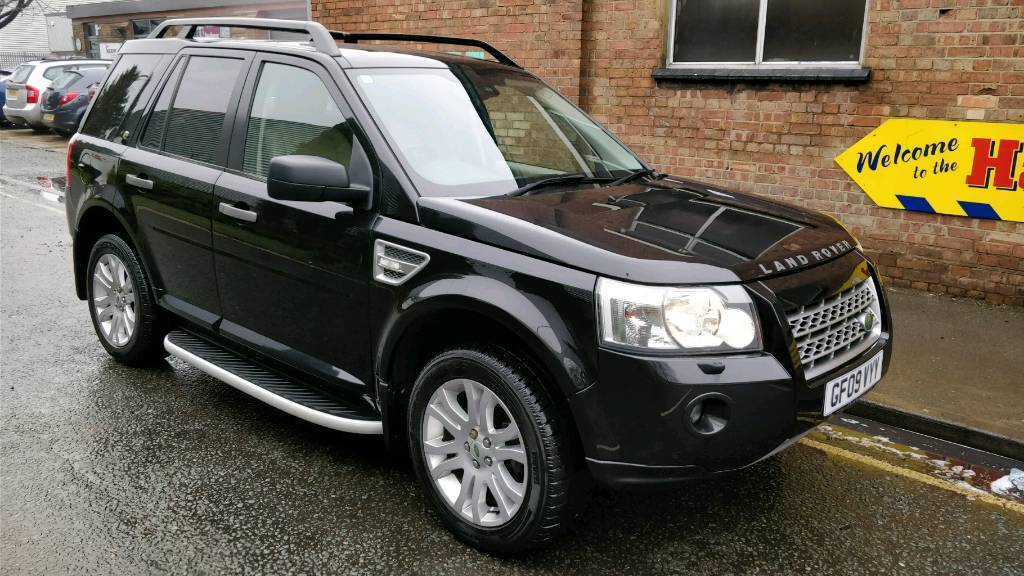 land rover freelander 2 4x4 hse td4 black 2009 in slough berkshire gumtree. Black Bedroom Furniture Sets. Home Design Ideas
