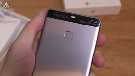 HUAWEI P9 - Silver - 32GB - Unlocked - Box + Accessories - £215
